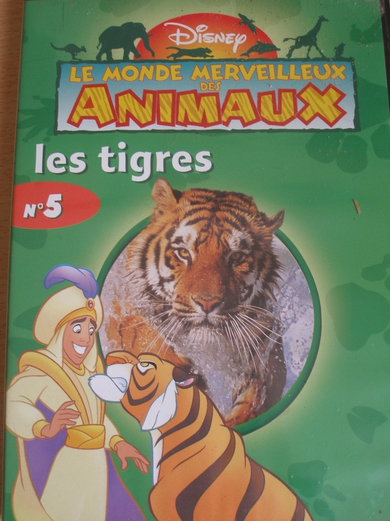 DVD documentaires, films animaliers... P6020014