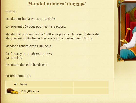 [Économie] Mandat de remboursement Perseu11