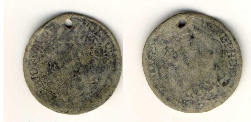 Moneda colonial de José I de Portugal, 175... Medall10