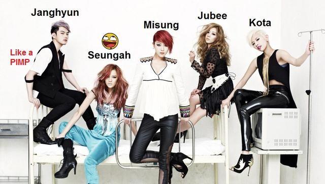 Black et la Kpop Sunnyh10