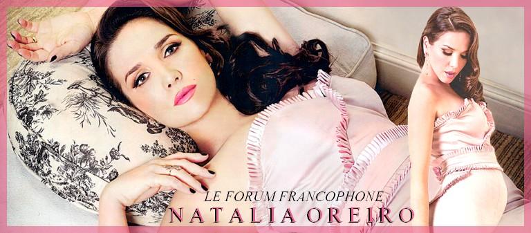 Le Forum Francophone de Natalia Oreiro