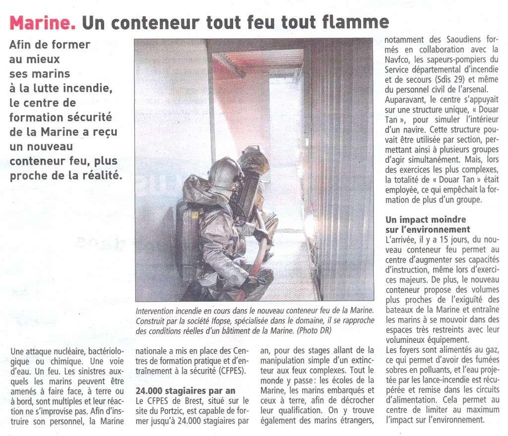 Centre d'Entrainement Securité du Portzic à Brest Ces_br10
