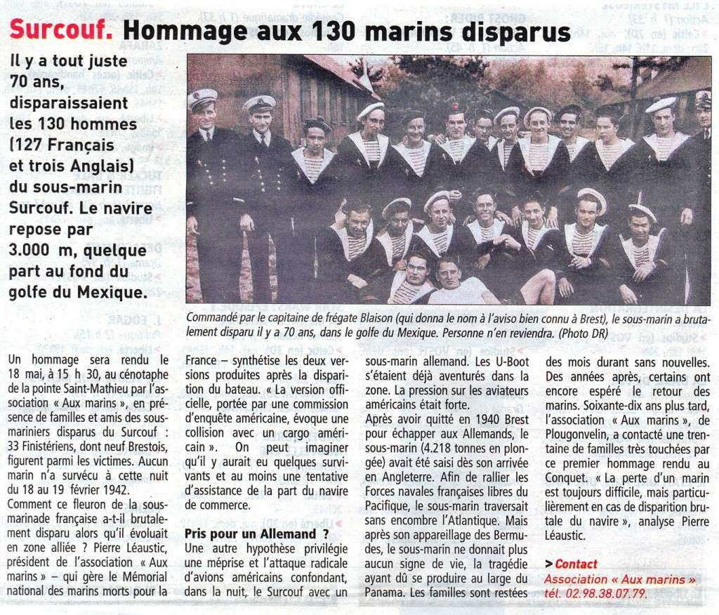 [ Divers - Les classiques ] LE CROISEUR SOUS-MARIN SURCOUF - Page 3 Surcou10