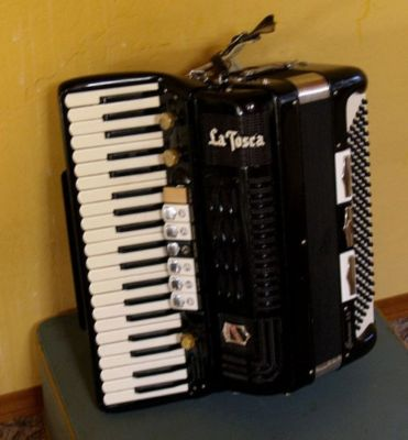 """Vintage Gretsch accordéon """"la tosca"""" -1886210"""