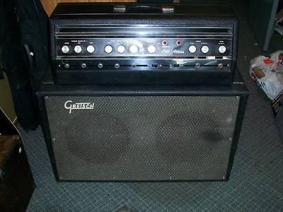"1967 Gretsch ""Chet Atkins"" Head Tube Amp""6163"" -2333810"
