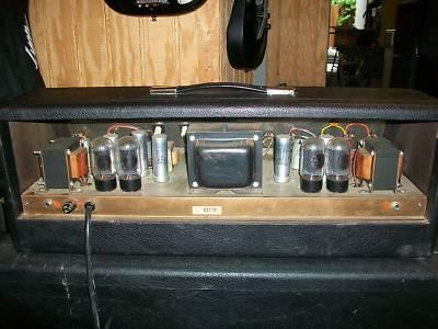 "1967 Gretsch ""Chet Atkins"" Head Tube Amp""6163"" -2333814"