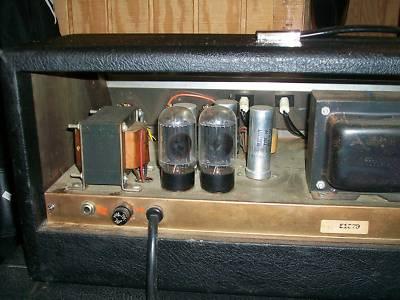 "1967 Gretsch ""Chet Atkins"" Head Tube Amp""6163"" -2333815"