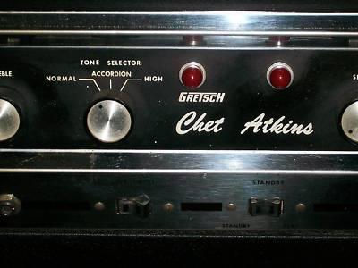 "1967 Gretsch ""Chet Atkins"" Head Tube Amp""6163"" -2333817"