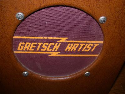 """50′s Gretsch """"Artist"""" Tube Amp -2975011"""
