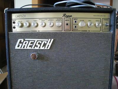 "1968 GRETSCH AMPLI GUITARE ""ROGUE"" -6221511"