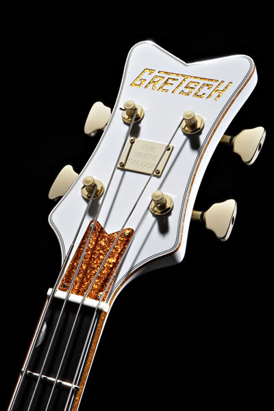 Gretsch G6136LSB White Falcon Bass Guitar  Blanc 126