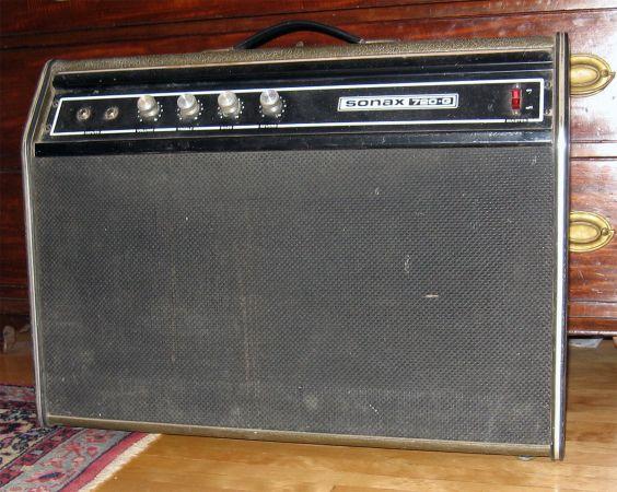 Vintage Yorkville Gretsch Sonax 720G twin 20 watt guitar amp 16638510