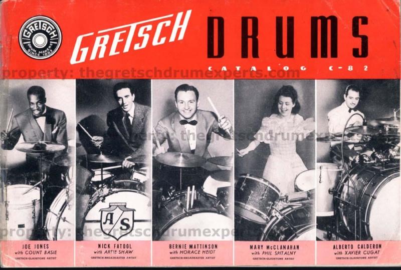...Gretsch drum   (catalogue a partir de 1941...) 1941_c10