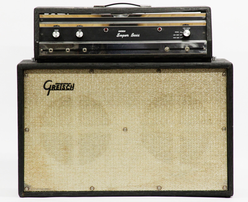 """1967 Gretsch """"6157"""" Super Bass  1960_g10"""