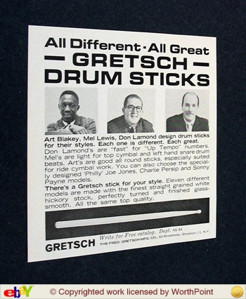 "Gretsch ""snare drum stick"" 1_53c510"