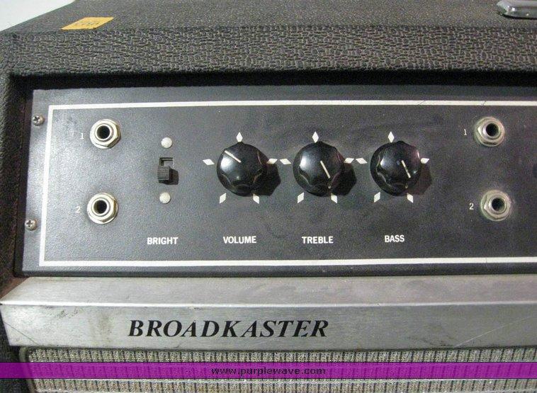 1960 Gretsch  Broadkaster  Modèle 7877  3098a10