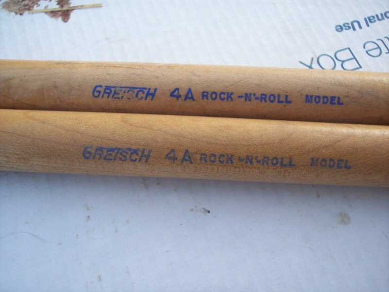 "Gretsch ""snare drum stick"" 4a_10"