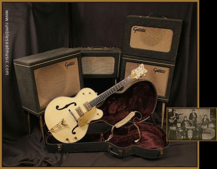 "1959 Gretsch Stereo amp"" head"" 58gret11"