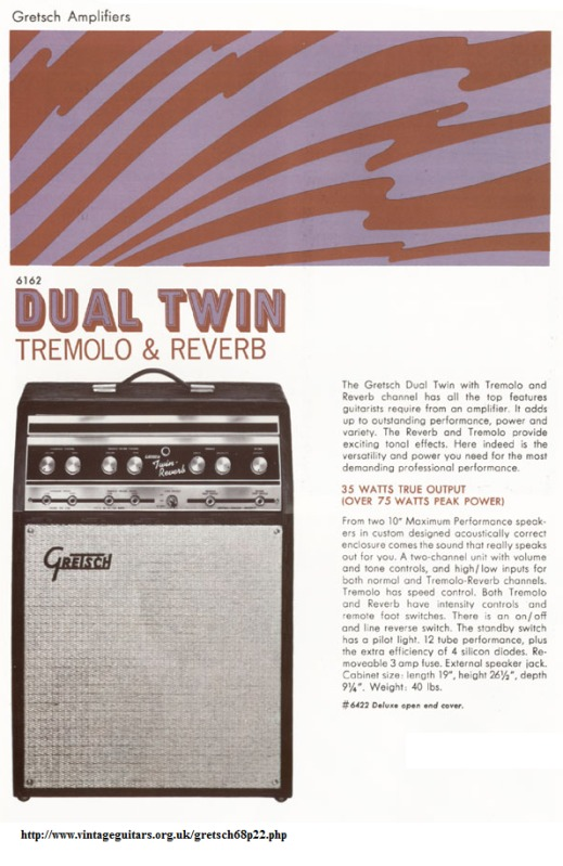 Gretsch Twin Reverb 6162 6162ad10