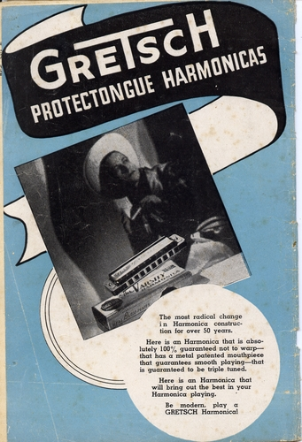 LONNIE GLOSSON ..... and his Gretsch varsity harmonica..... 711oud10