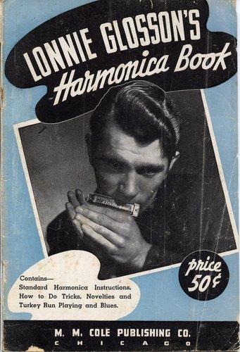 LONNIE GLOSSON ..... and his Gretsch varsity harmonica..... 71dzph10