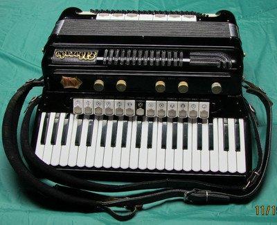 """Vintage Gretsch accordéon """"la tosca"""" A11"""