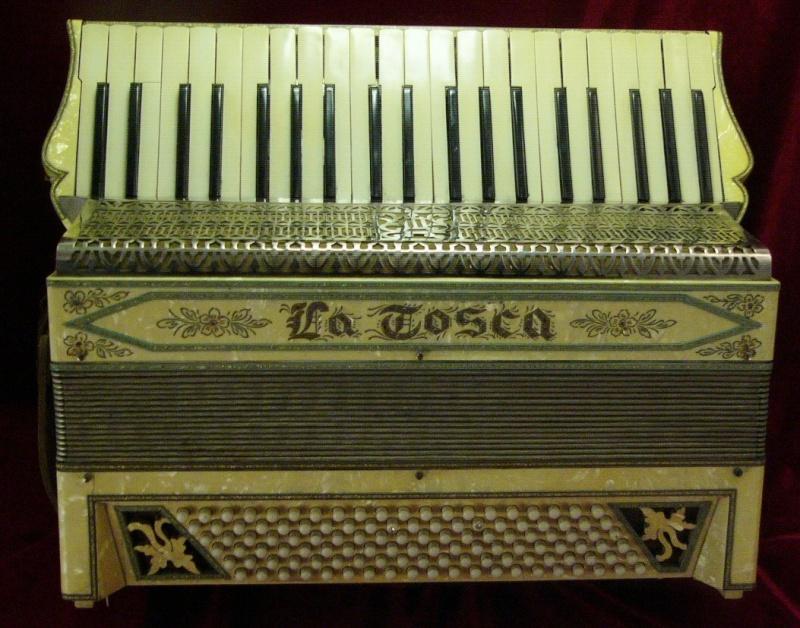 """Vintage Gretsch accordéon """"la tosca"""" At0010"""
