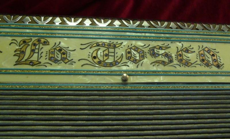 """Vintage Gretsch accordéon """"la tosca"""" At8_0010"""