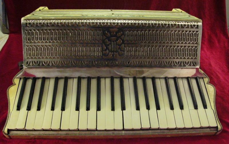 """Vintage Gretsch accordéon """"la tosca"""" At_01010"""