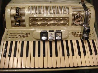"Vintage Gretsch accordéon ""la tosca"" B5n6b210"
