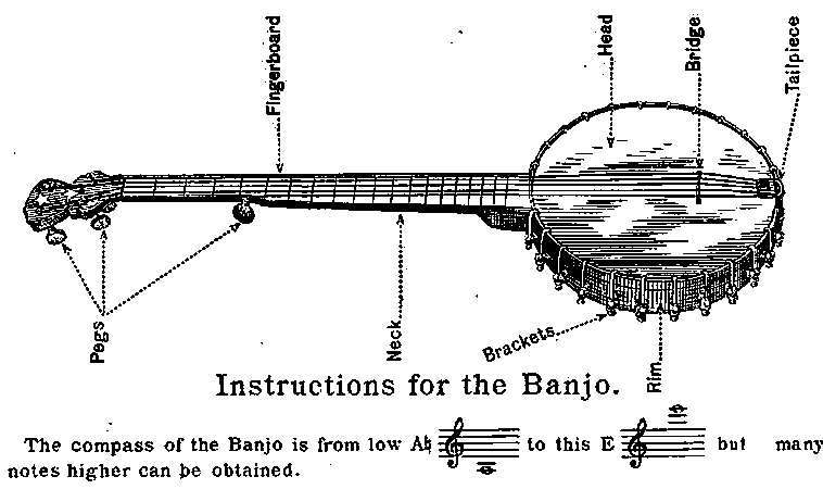 banjo 5 cordes Banjo-10