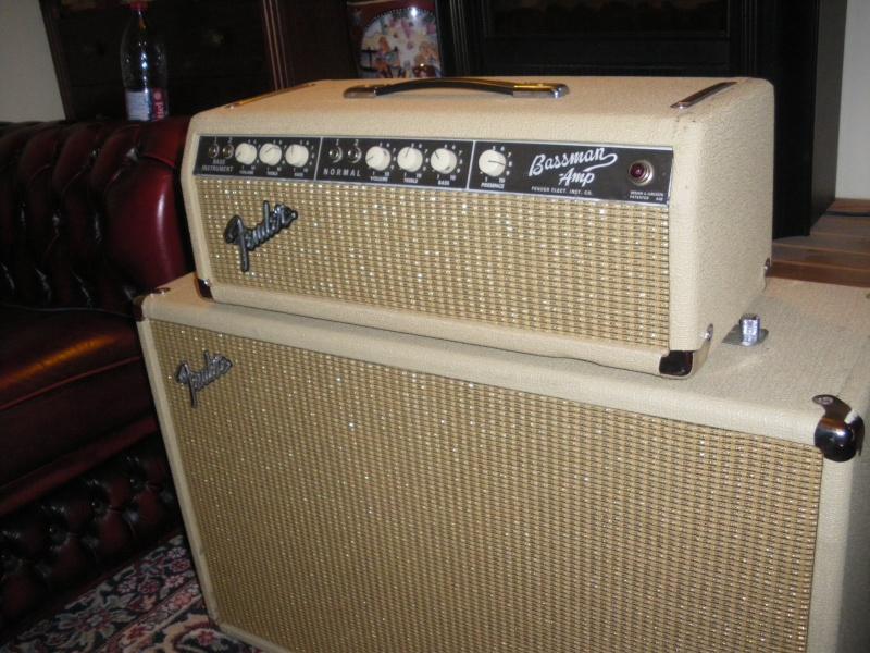 """Fender  BASSMAN blond  """"6g6B""""  Bassm610"""