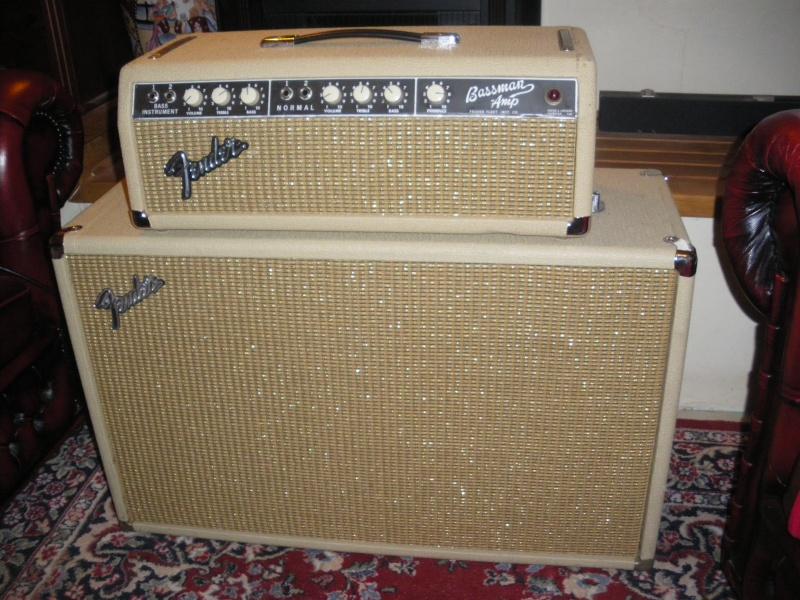 """Fender  BASSMAN blond  """"6g6B""""  Bassma11"""