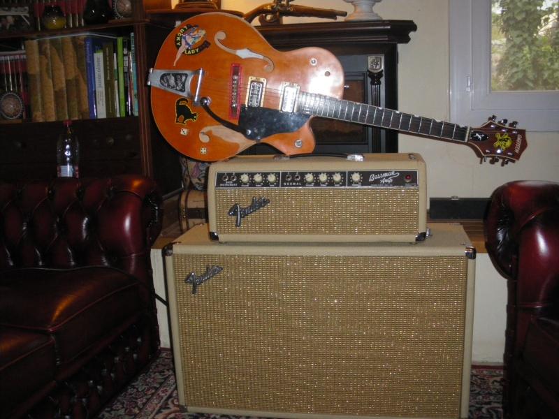 """Fender  BASSMAN blond  """"6g6B""""  Bassma13"""