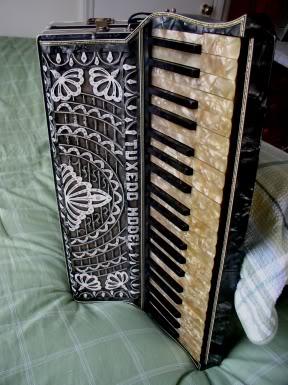 """Vintage Gretsch accordéon """"la tosca"""" C10"""