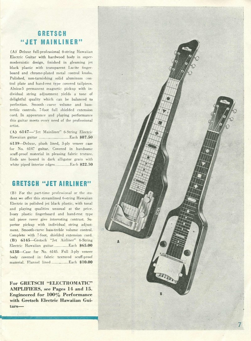 Gretsch Electromatic Lap Steel ... Cat_1917