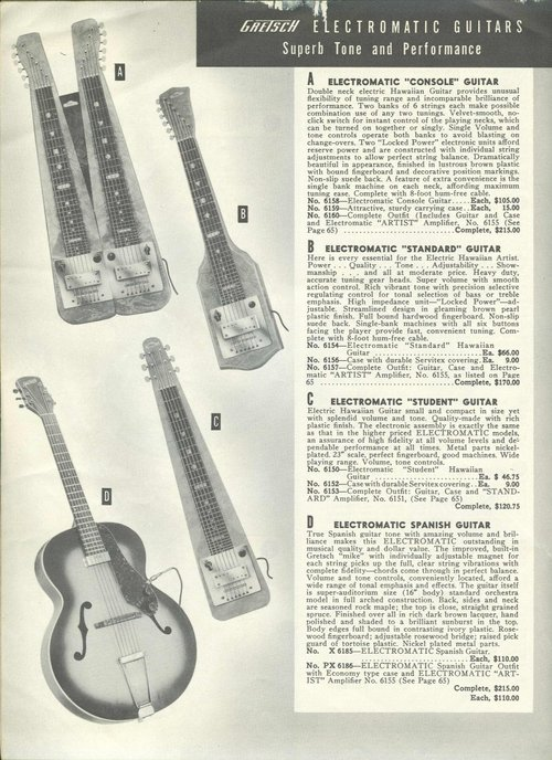 Gretsch Electromatic Lap Steel ... Cat_1920