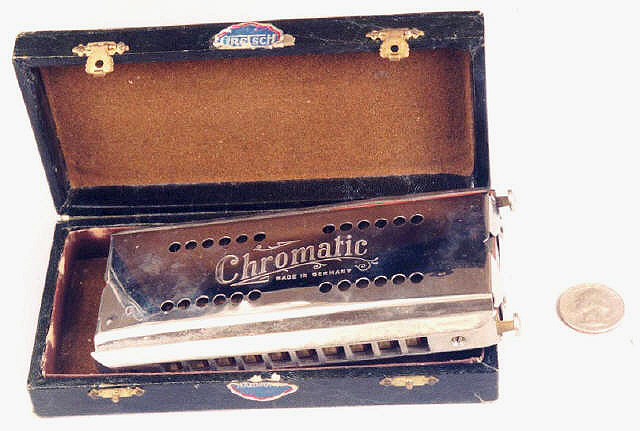 Vintage Gretsch harmonica  Chrm-d10