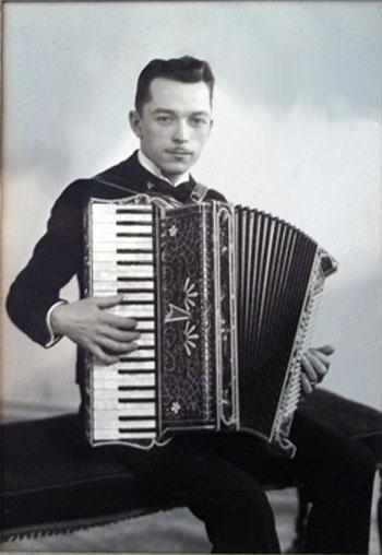 """Vintage Gretsch accordéon """"la tosca"""" Claud-10"""