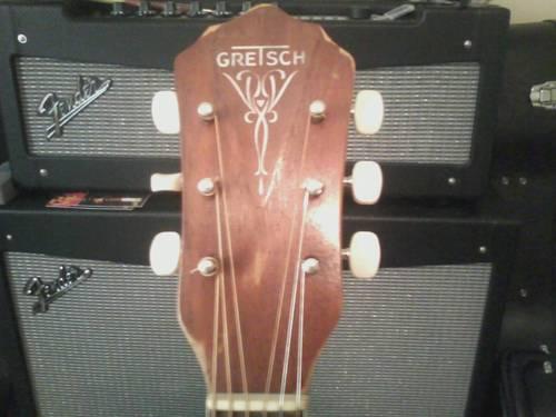 60's Gretsch jumbo acoustic guitar Ff11