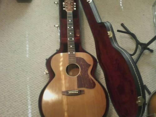 60's Gretsch jumbo acoustic guitar Fff12