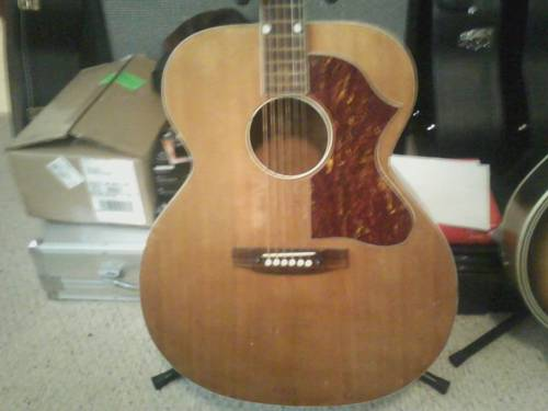 60's Gretsch jumbo acoustic guitar Ffffff10