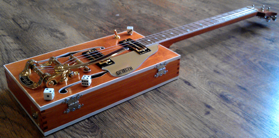 "boite a cigares 4 strings guitar style"" bo di glitsch "" G910"