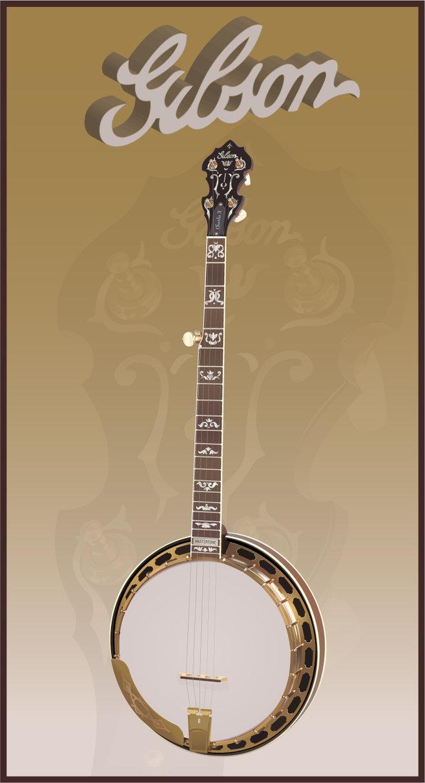 banjo 5 cordes Gibson10