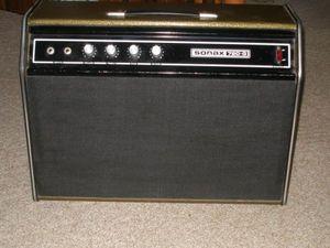 Vintage Yorkville Gretsch Sonax 720G twin 20 watt guitar amp Grets124