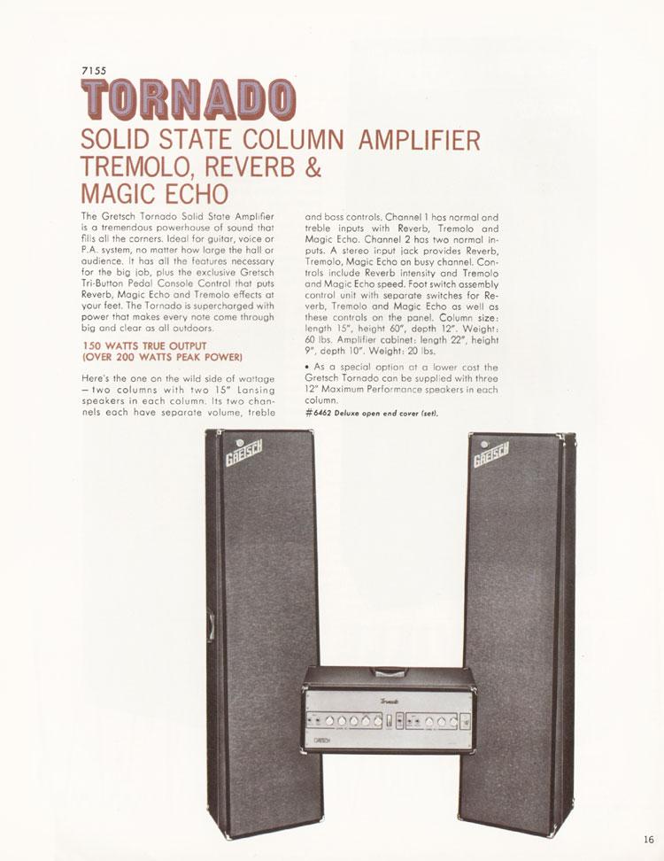 Gretsch Amp Tornado Grets164