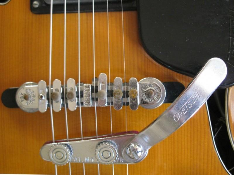 "Vintage Gretsch ""vibrato tremolo and bigsby"" Grets202"