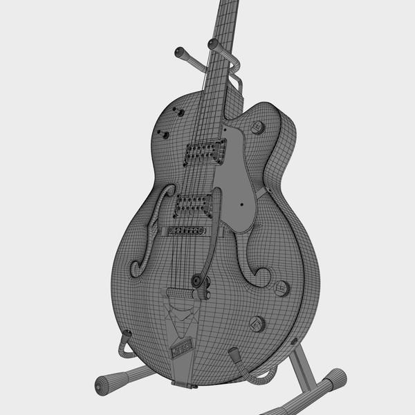 Gretsch Chet Atkins 3D  Grets221