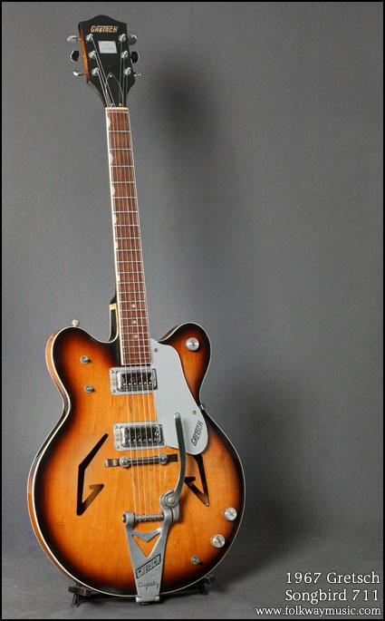 "1967 Gretsch ""Songbird 711"" and ""Sam Goody"" Grets227"