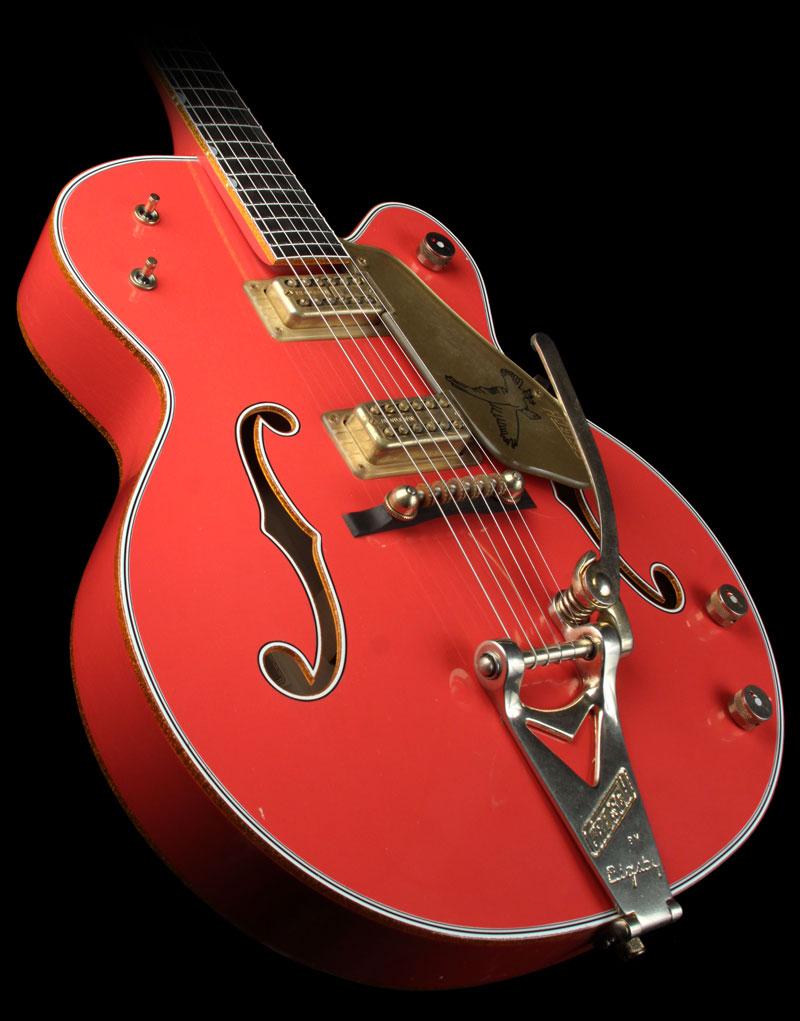 Custom Shop Masterbuilt Red Falcon Relic Grets273
